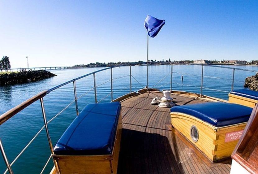 San Diego Yacht Rentals 72' Mathis Bow
