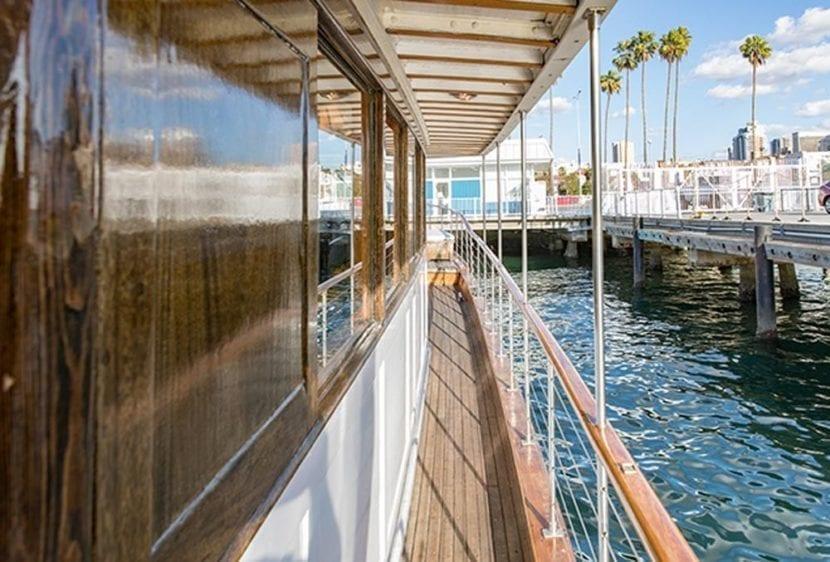 San Diego Yacht Rentals 72' Mathis Starboard Side