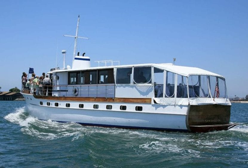 San Diego Yacht Rentals 72' Mathis Stern