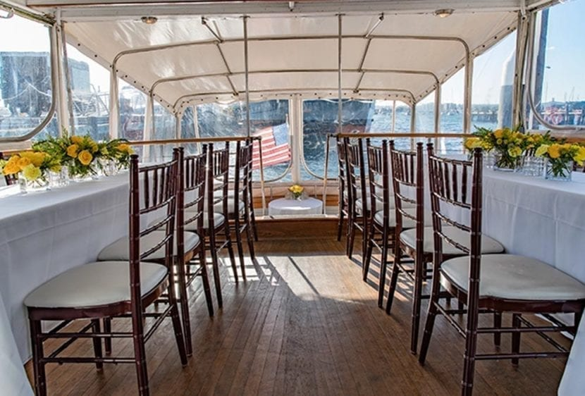 San Diego Yacht Rentals 72' Mathis Tables 2