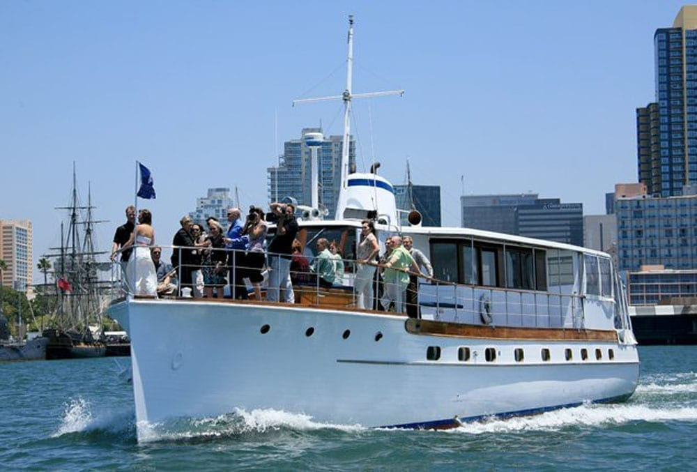 rental yacht San Diego 72' Mathis