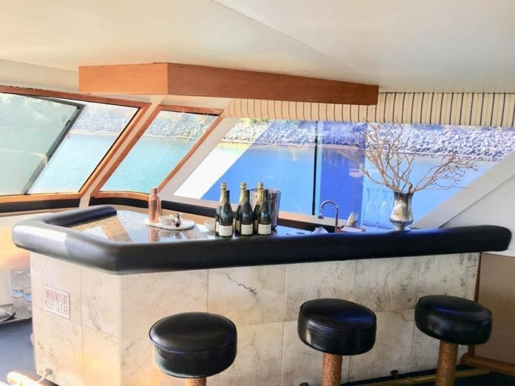San Diego Yacht Rentals 78' Broward Bar