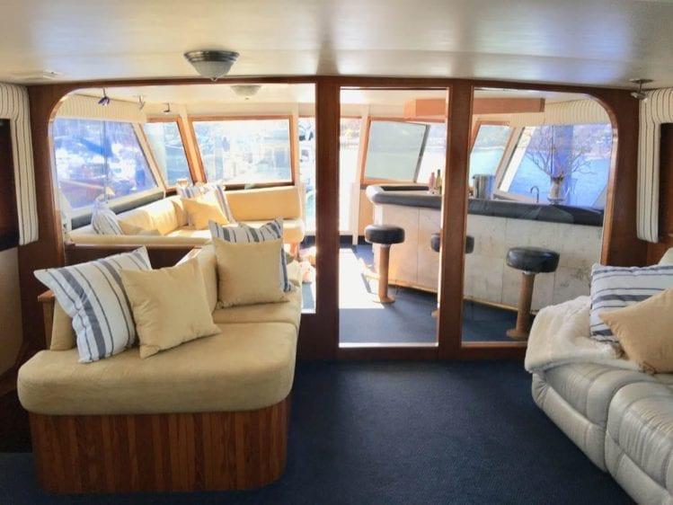San Diego Yacht Rentals 78' Broward Salon