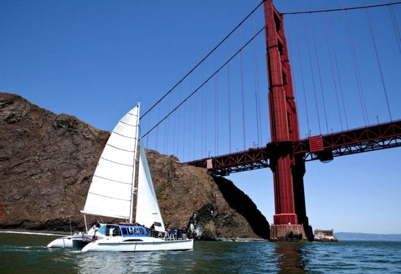 San Francisco Yacht Rentals 55' Adventure Cat.