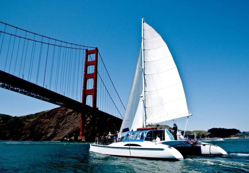 San Francisco Yacht Rentals 55' Adventure Cat