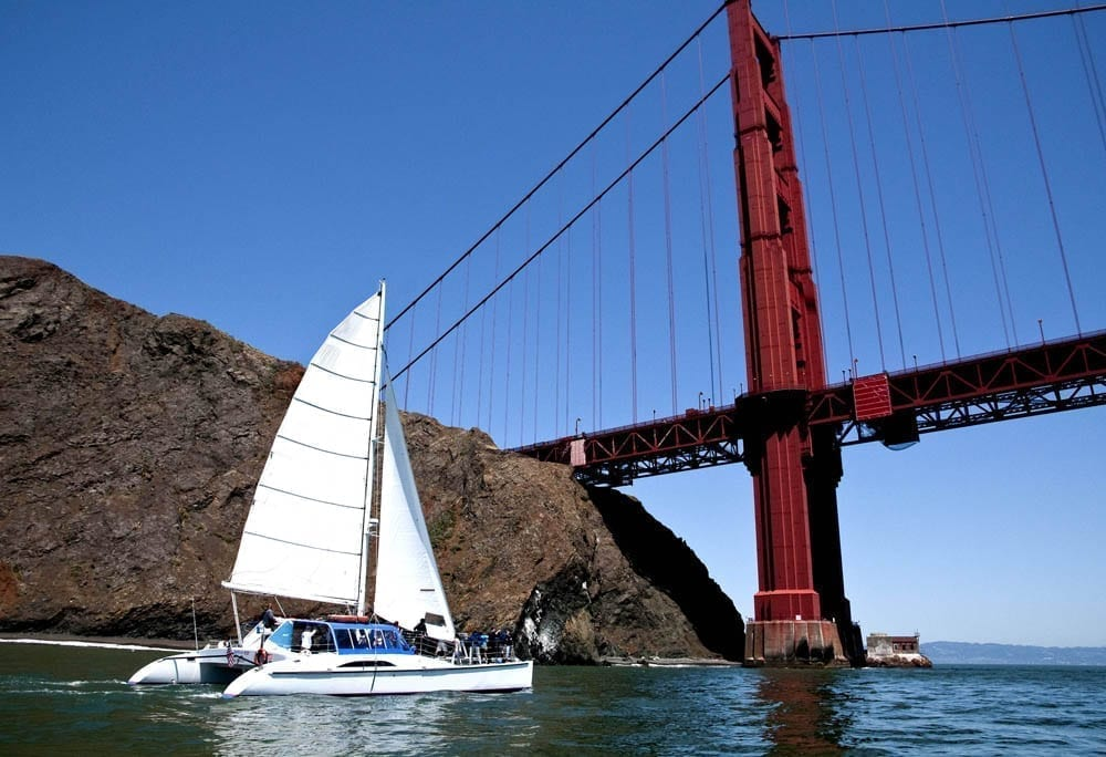 San Francisco Catamaran Charter 55' Adventure Cat.