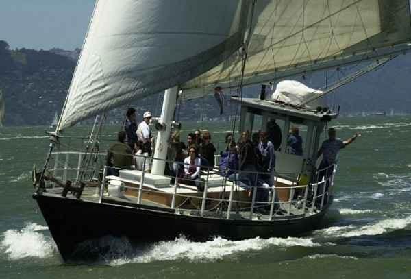 San Francisco Yacht Rentals 57' Millerick Sailing