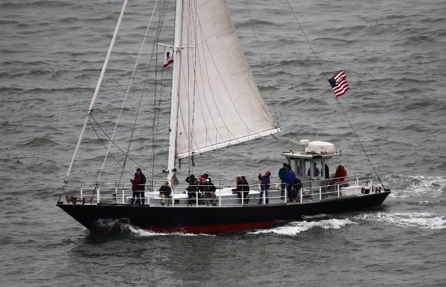 San Francisco sailing charter 57' Millerick