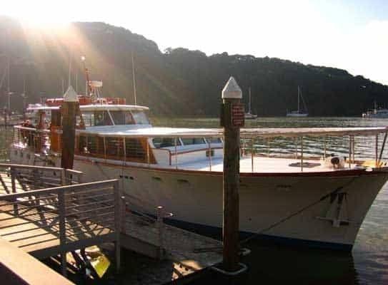 San Francisco Yacht Rentals 57' Stephens Dockside