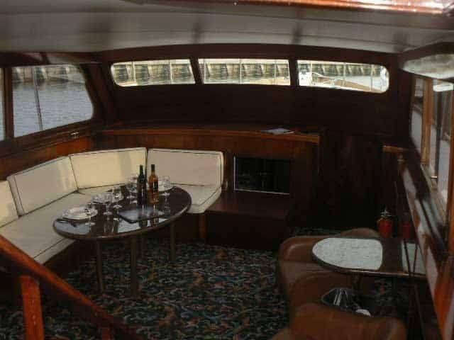 San Francisco Yacht Rentals 57' Stephens Salon