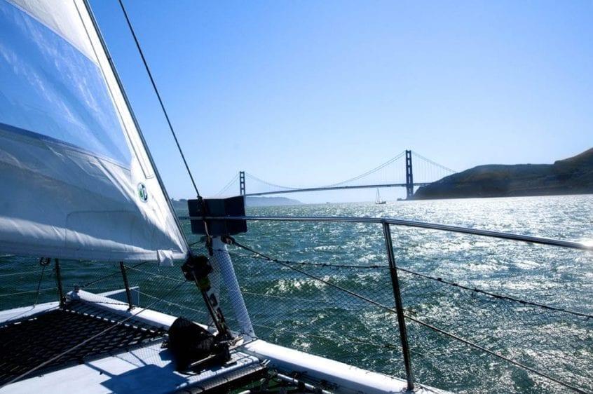 San Francisco Yacht Rentals 65' Catamaran Sailing yacht