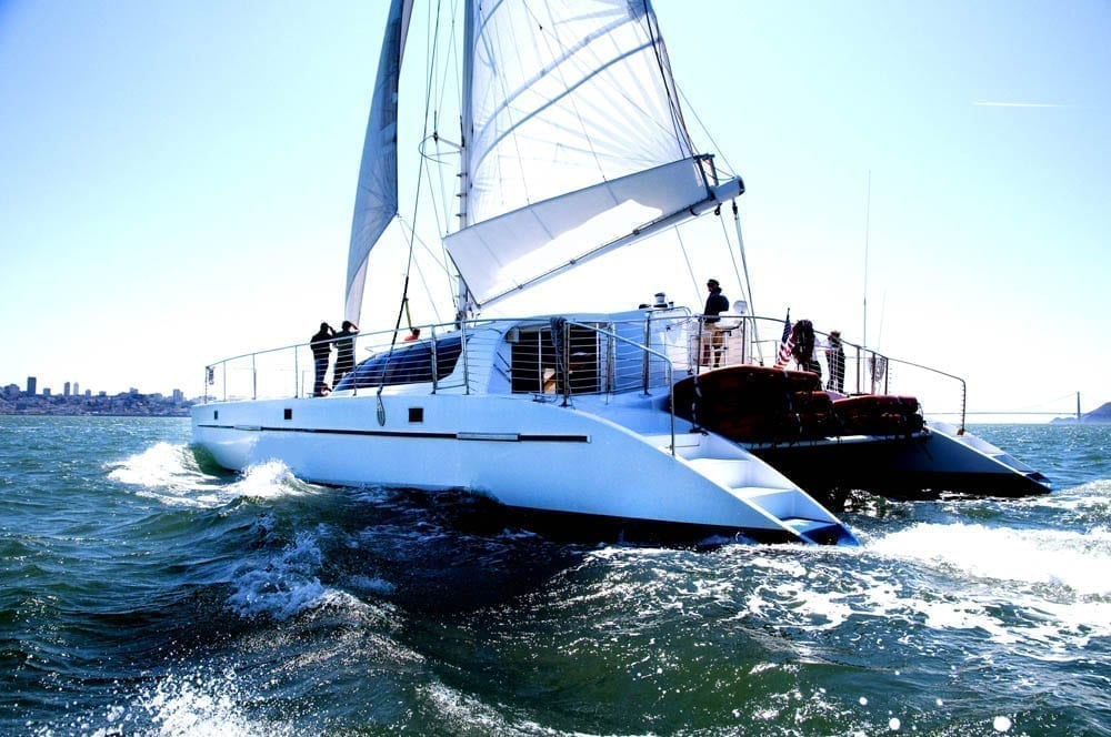 san francisco catamaran rental 65' Catamaran