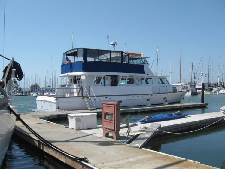 San Francisco Yacht Rentals 75' Voyager