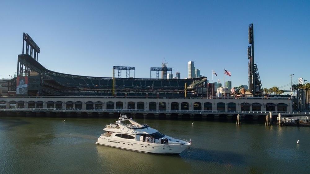 San Francisco Yacht Rentals 80' Monte Fino Baseball