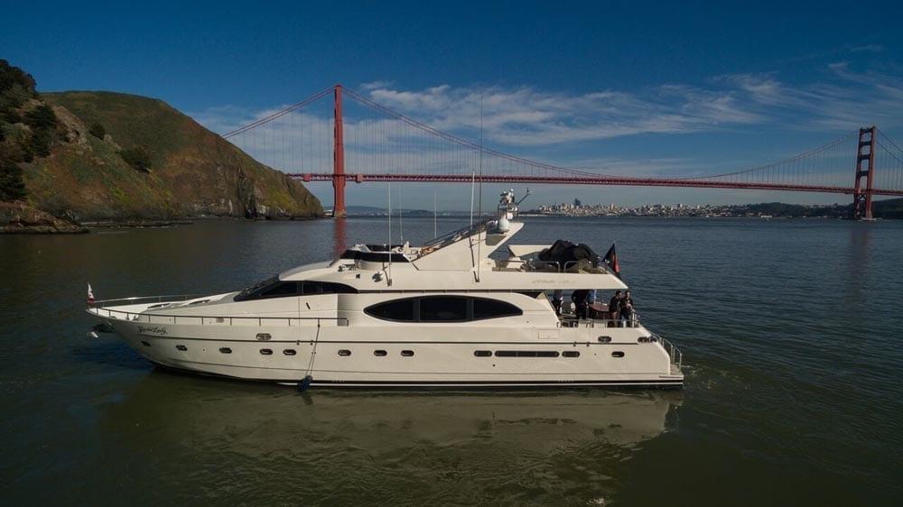 San Francisco Yacht Rentals 80' Monte Fino