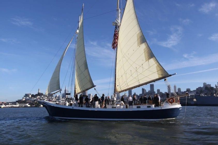 San Francisco Yacht Rentals 80' Schooner Sailing
