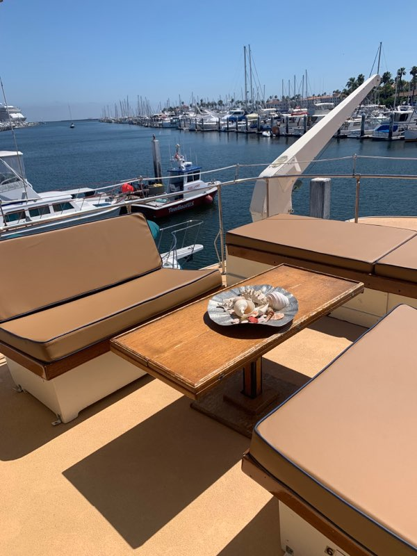 San Pedro Party Boat Rental Upper Deck