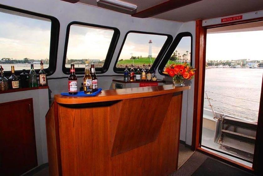 San Pedro Yacht Rentals 65' Westport Bar