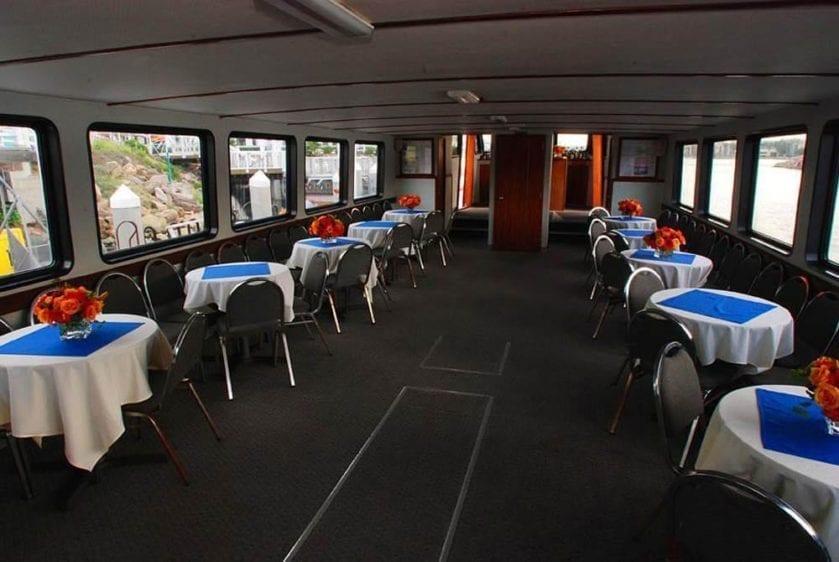 San Pedro Yacht Rentals 65' Westport Main Deck