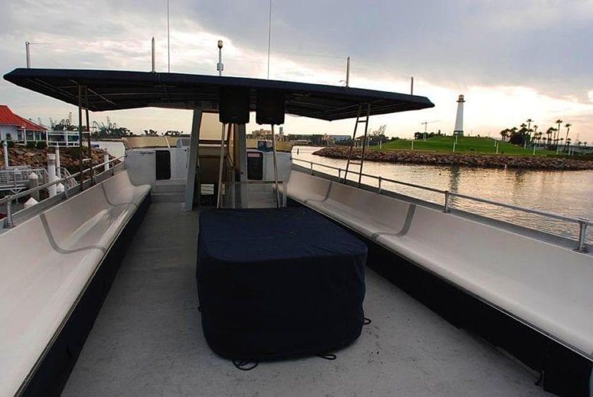 San Pedro Yacht Rentals 65' Westport Upper Deck