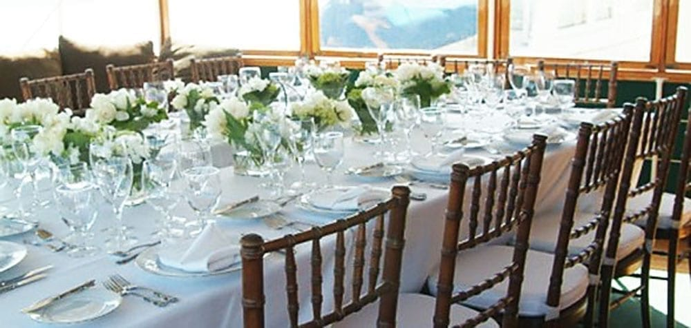 San Pedro Yacht Rentals 77' John Tables Set
