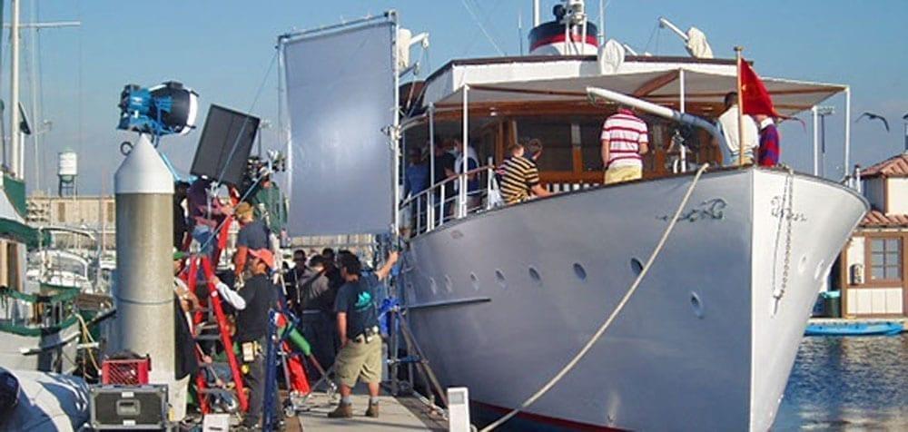 San Pedro Yacht Rentals 77' John Tracy Film Shoot