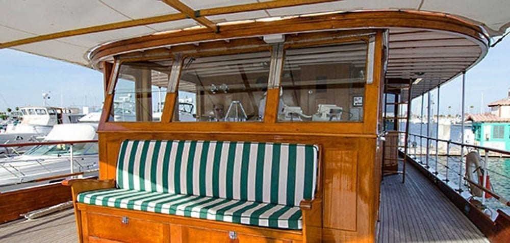San Pedro Yacht Rentals 77' John Tracy Forward Seating
