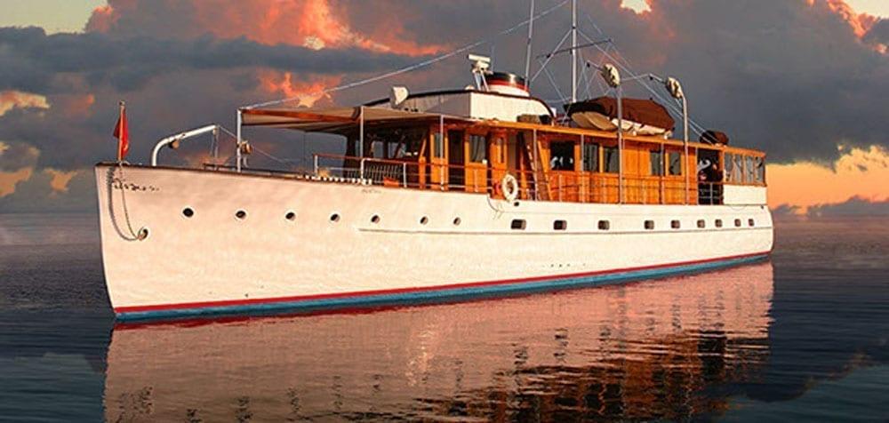 Long Beach charter yacht 77' John Tracy