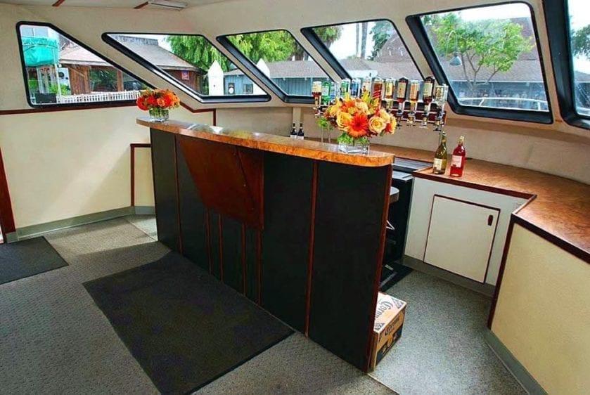 San Pedro Yacht Rentals 90' Westport Bar