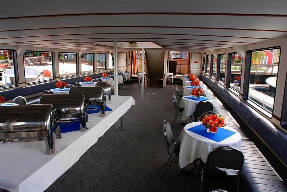 Yacht charter Long Beach 90' Westport Catering