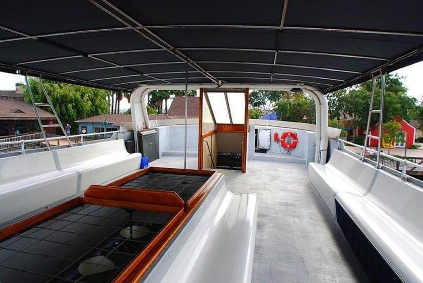 San Pedro Yacht Rentals 90' Westport Upper Deck 2
