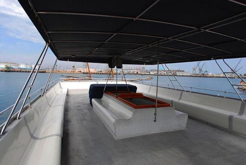 San Pedro Yacht Rentals 90' Westport Upper Deck