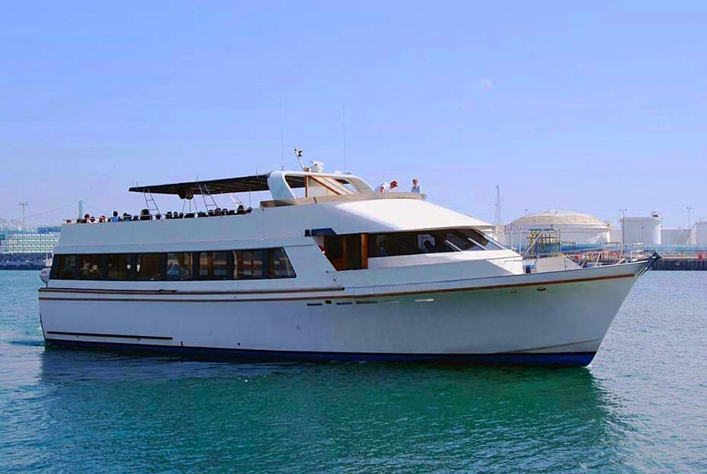 yacht charter Long Beach 90' Westport
