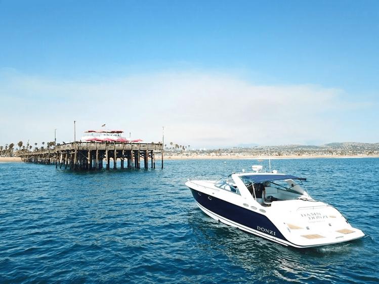 Newport Beach Luxury Cruise Boat