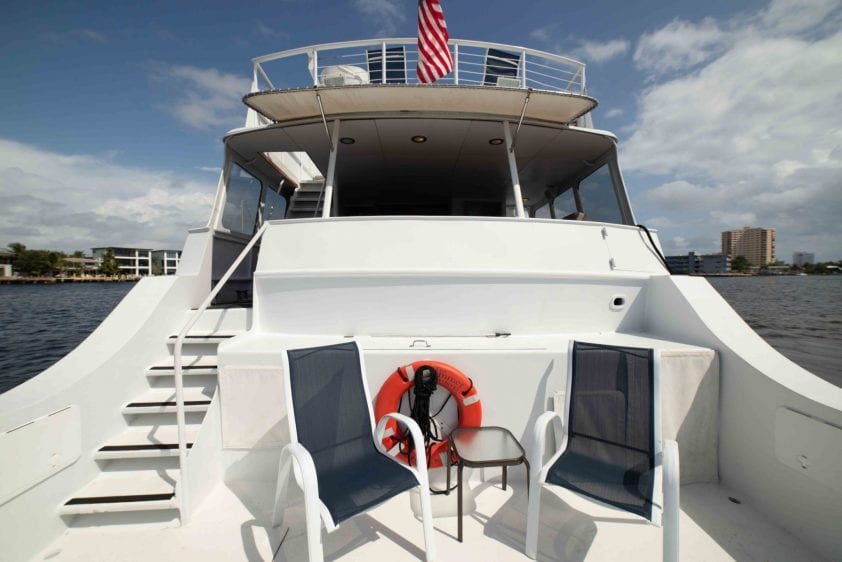 ft lauderdale yacht rental aft deck
