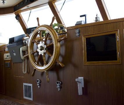 ft lauderdale yacht rental pilot wheel