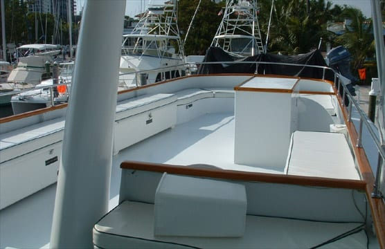 ft lauderdale yacht rental upper deck
