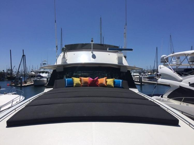 70' Bertram San Diego Yacht Rentals
