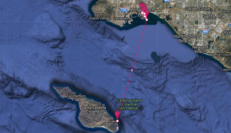 Long Beach Yacht Rentals to Catalina Avalon