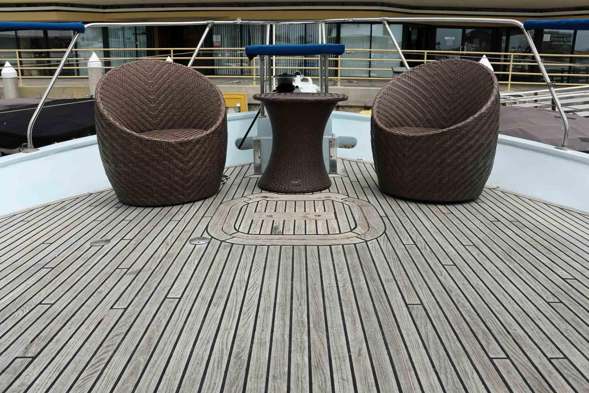 newport beach party yacht bow
