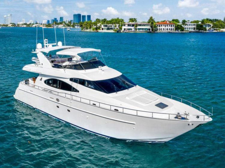 Luxury Yacht Rental in Miami Beach