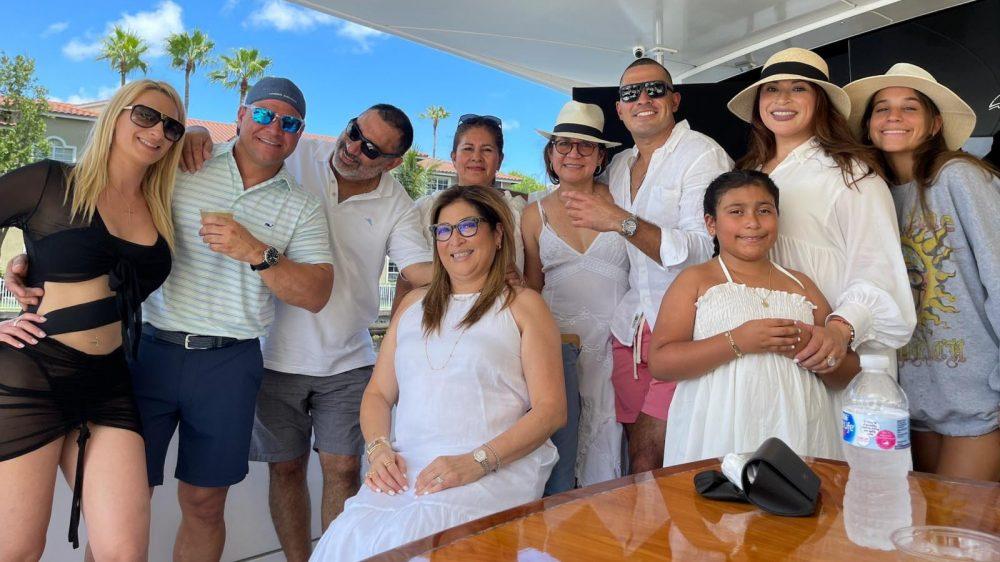 Birthday on a Luxury Yacht in Miami