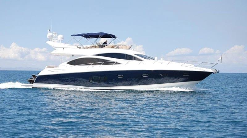 Sunseeker yacht charter