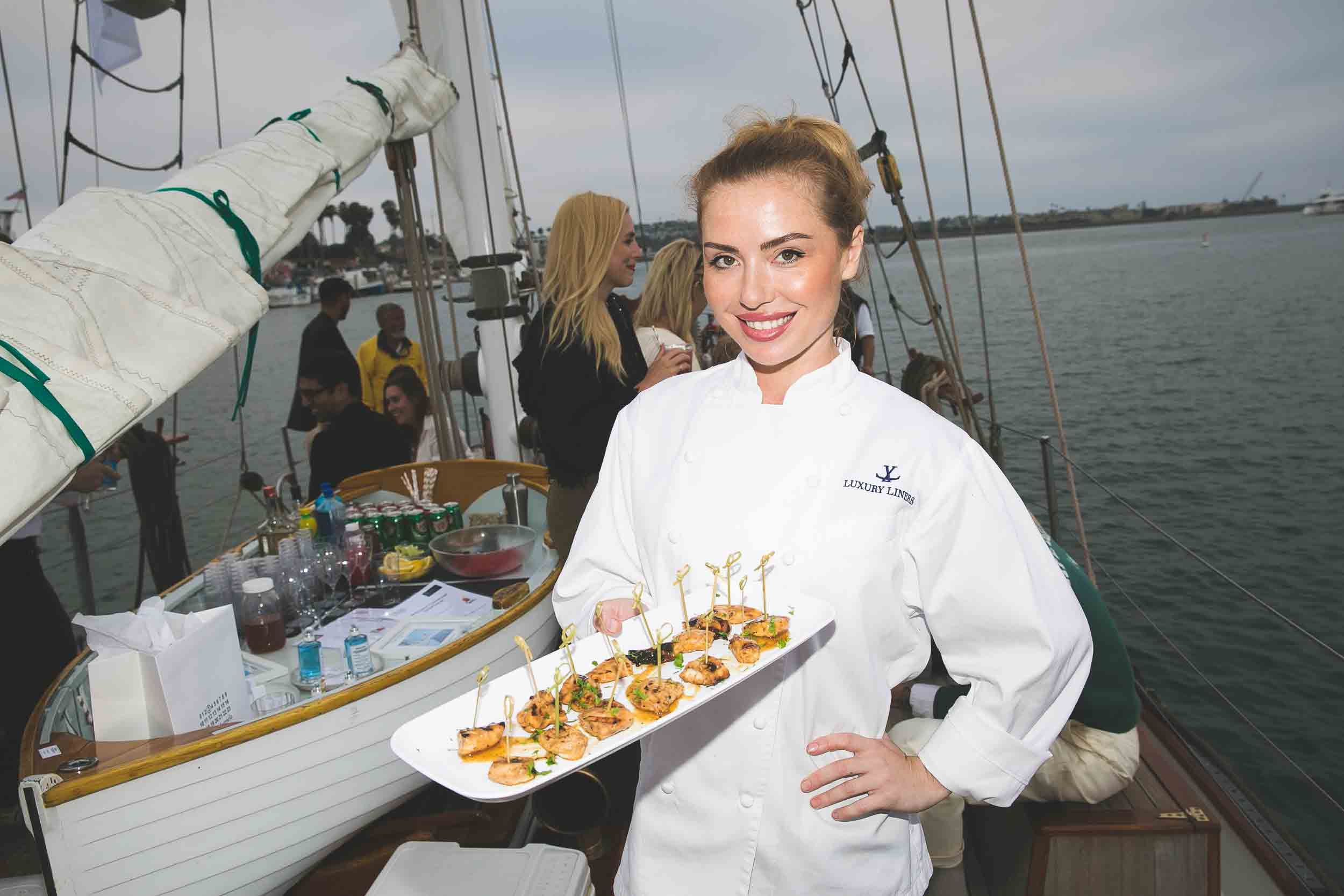 Yacht Catering Private Chef