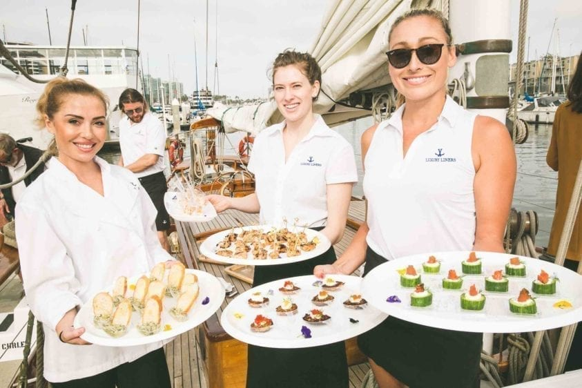 Yacht Catering | Passed Appetizers