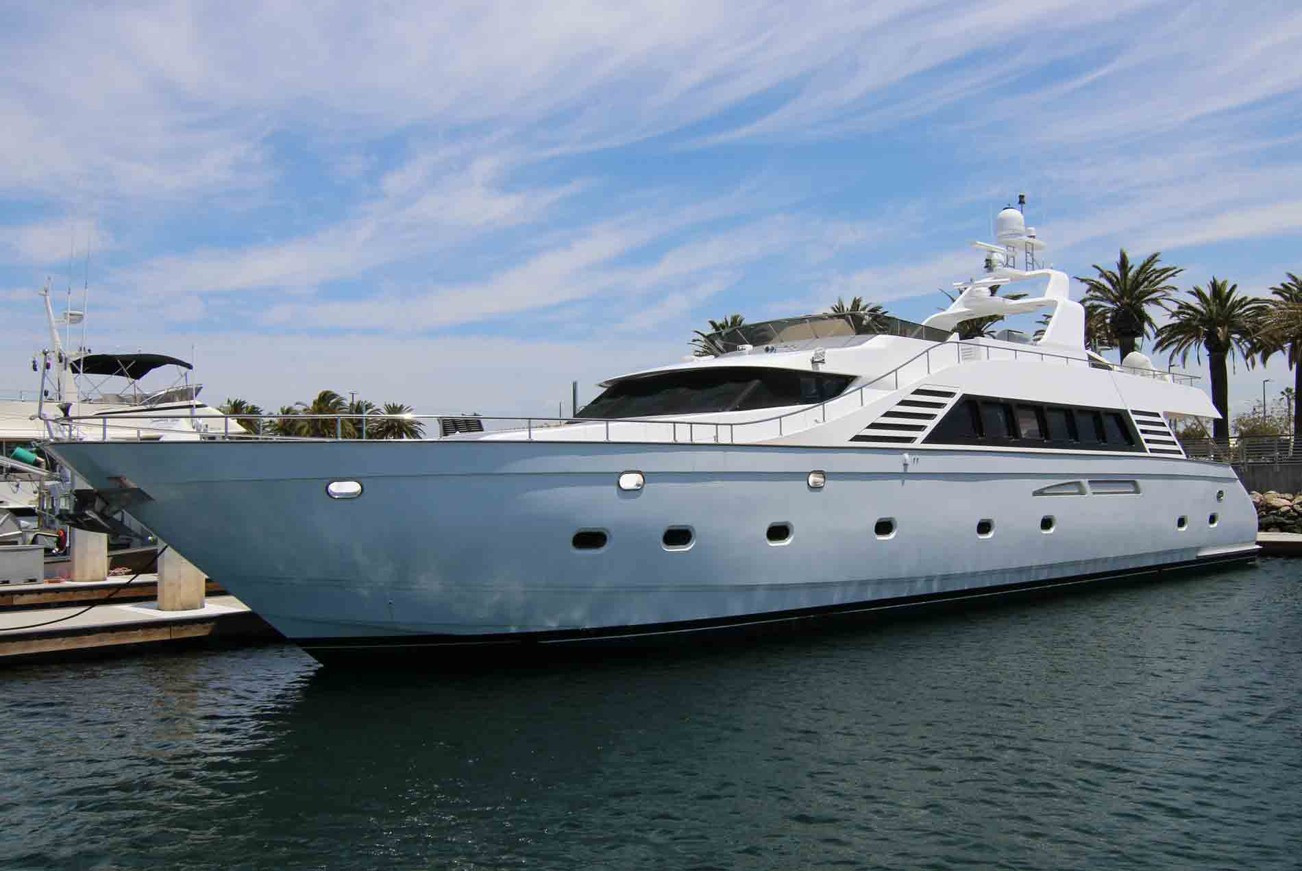 yacht charter los angeles port side